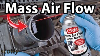 Cleaning A Mass Air Flow Sensor To Stop Hesitation