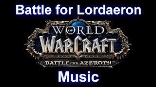 Siege of Lordaeron Music | Battle for Lordaeron Music (Complete) - Warcraft Battle for Azeroth