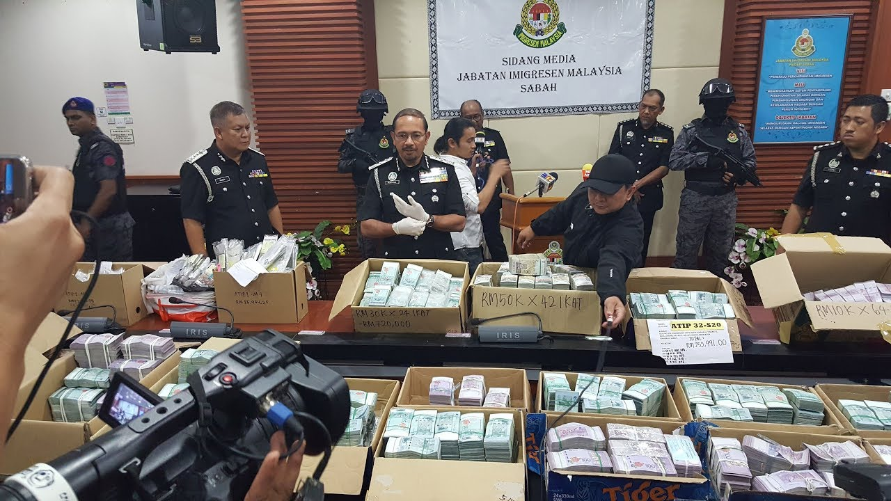 RM13mil find during anti-vice raid stumps authorities