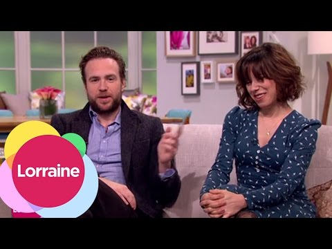 Rafe Spall And Sally Hawkins On Working Together In X + Y | Lorraine