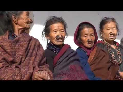 Tour Northeast India:  Arunachal Pradesh - a visit to a Apatani Village