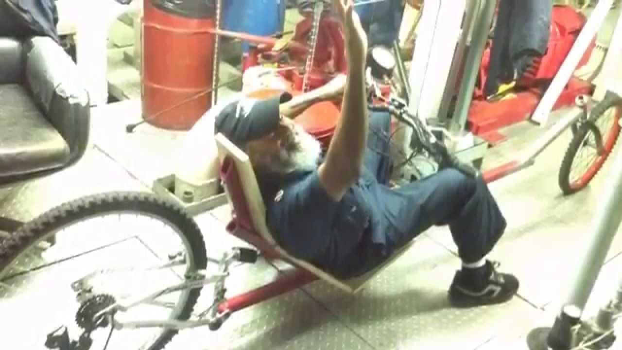 Custom Built Recumbent Bike Youtube