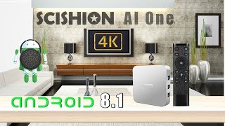 SCISHION AI ONE Android 8.1 2018 TV Box Review