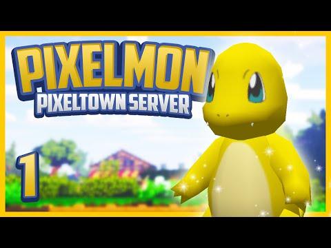Minecraft Pixelmon 3.3.0 Server! PixelTown