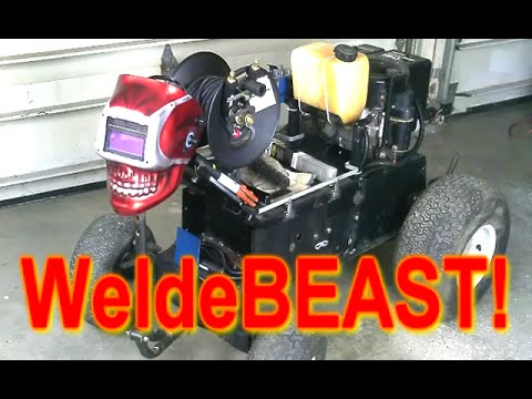 Homemade DC Arc Welder Build