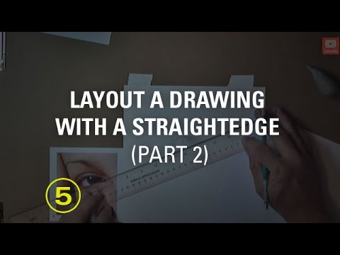 Layout a Drawing With a Straightedge (part 2)