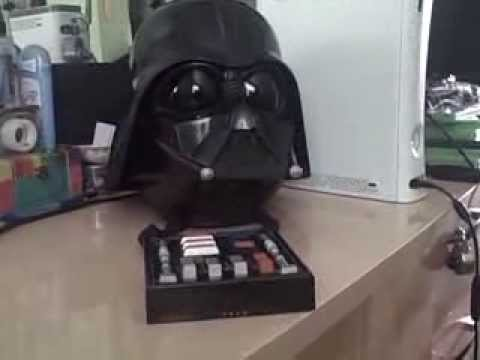 Darth Vader Voice Changer Helmet Review