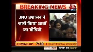 Breaking News   Released Video Shows JNU Students' Protest Outside Prof. Atul Johri's Office