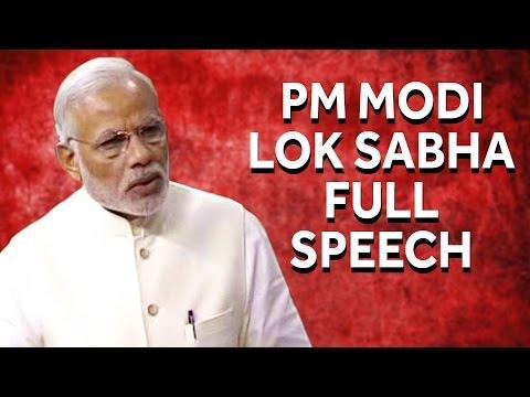 PM Narendra Modi's Reply to Motion Of Thanks In Lok Sabha || Full Speech
