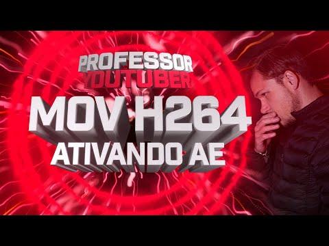 Como ativar os Formatos Quick time (MOV) e H.264 (mp4) no After Effects?