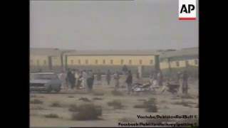Pakistan Railways Accident of Night Coach #TBT 1997