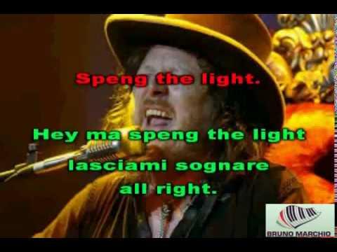 KARAOKE SPENG THE LIGHT CON CORI - ZUCCHERO