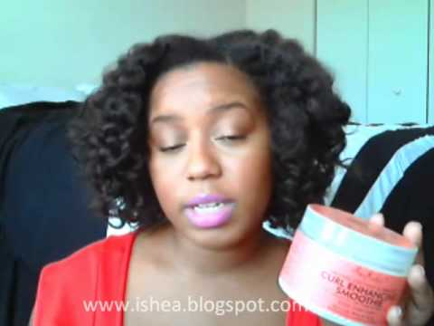 Review: Shea Moisture Curl Enhancing Smoothie + Shea Butter Line