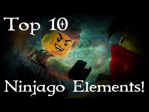 Top 10 Best Ninjago Elements!