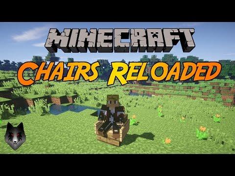 Minecraft - Chairs Reloaded Plugin Showcase