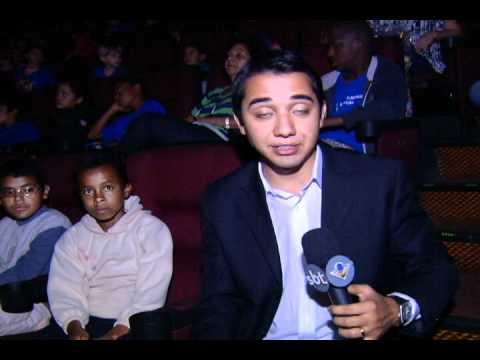 Mais de 500 crianças de escolas públicas foram ao cinema pela 1ª vez