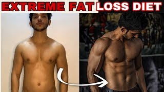 FULL DAY OF EATING - EXTREME FAT LOSS DIET(WITHOUT SUPPLIMENTS)