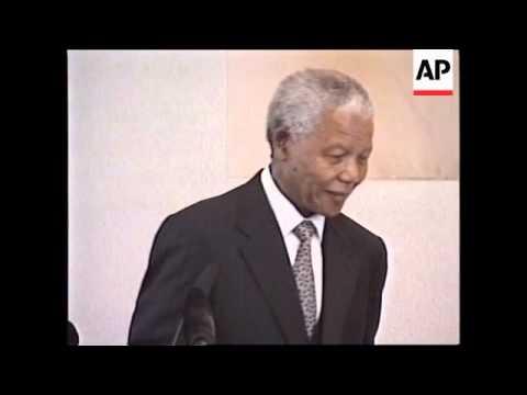 CHINA: BEIJING: SOUTH AFRICAN PRESIDENT MANDELA VISIT