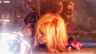 """Just A Girl"" Scene - Ship Fight Scene - Captain Marvel (2019) Movie CLIP HD"