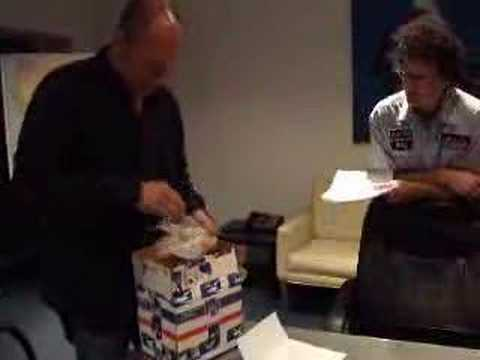 Corbin Bernsen opens mom's gift Video