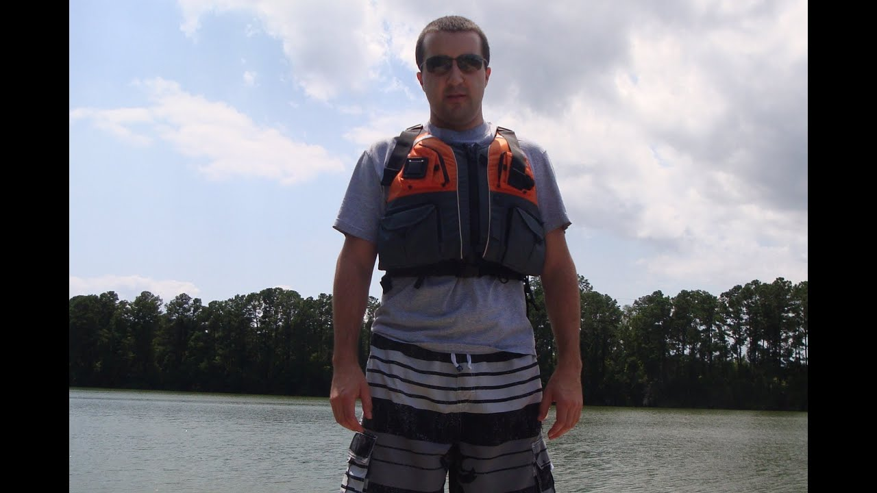Nrs chinook life jacket review youtube for Nrs chinook fishing pfd