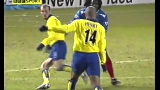 Thierry Henry vs Portsmouth away FA cup 2003/04