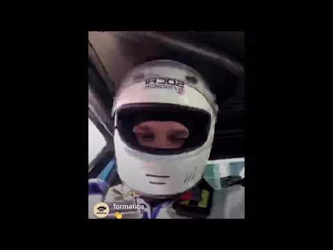 Баста (Василий Вакуленко) ездит и дрифтит на спортивной машине | Прямая Инстаграция