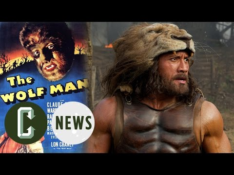 Dwayne Johnson as The Wolf Man?