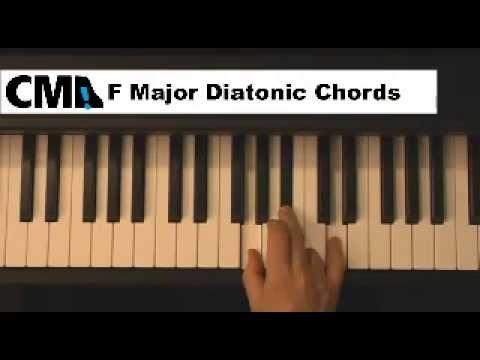 F#m7 Chord Piano Piano Chords Key of f Major
