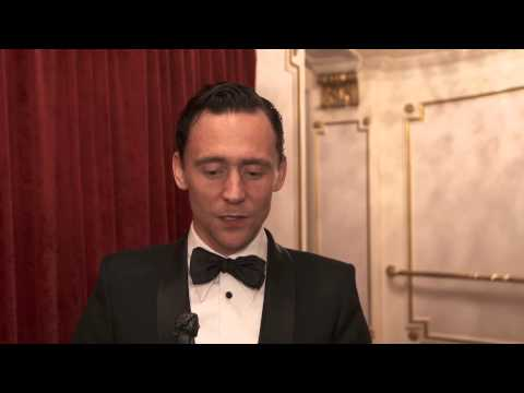 Tom Hiddleston's interview after winning Best Actor at Evening Standard Theatre Awards 2014