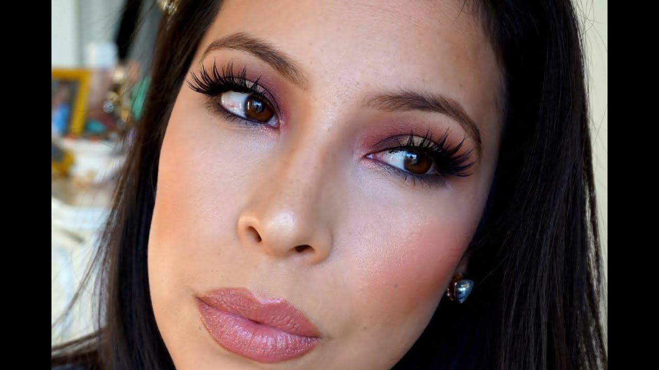 Maroon eye makeup