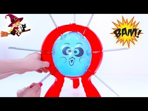 Boom Boom Balloon Juego Infantil de Mesa de Explotar el Globo