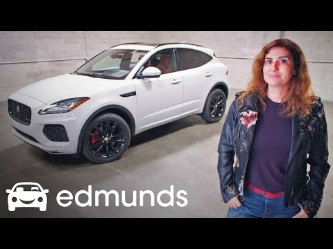 2018 Jaguar E-Pace: Big on Style — and Price | Edmunds