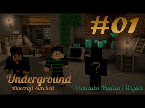 Underground Survival Minecraft #01