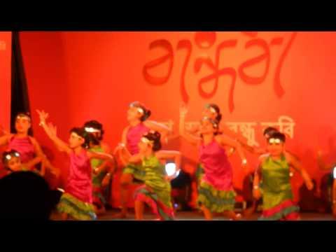 Ritisha Banerjee - Star Jalsa Show Bandhobi  Ballygaunge Durga Bari - Aug' 2014 video