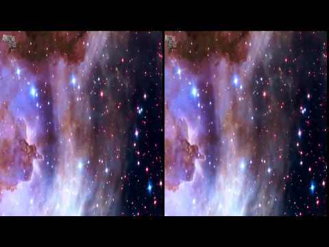 VR Video 360 | Galaxy Hubble Telescope Video Of Space | Google Cardboard Video Full HD