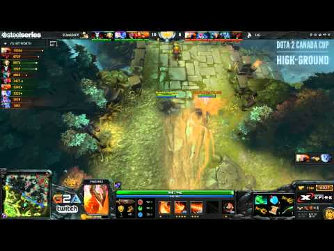 Dota 2 Canada Cup Season 4 - Quarter Finals (Union Gaming vs Summoner's Rift) - Game 2