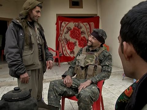 US Citizen Joins Kurdish Rebels in IS Fight