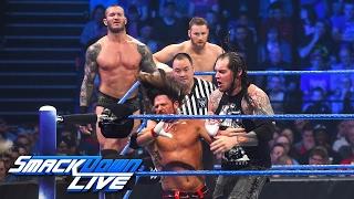 Orton, Styles & Zayn vs. Owens, Mahal & Corbin: SmackDown LIVE, May 9, 2017