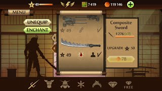 Shadow Fight 2 - Weapon Review - COMPOSITE SWORD