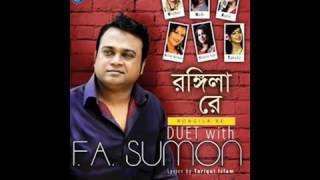 Rongila Re 2015 By F A Sumon Bangla Mp3 Album Download