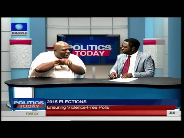 Politics Today: Okupe, Shehu Speak On Ensuring Violence-Free Polls PT4