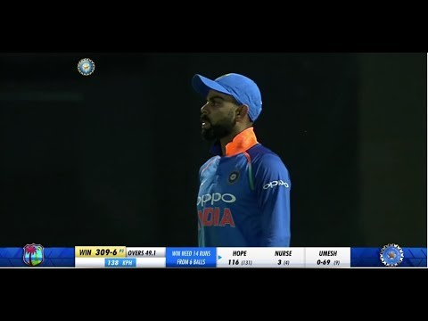 Ind Vs Windies 2nd ODI 24 oct 2018 Full Match Highlights