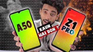 Vivo Z1 pro vs Samsung A50 - Kaun hai don ? 🔥
