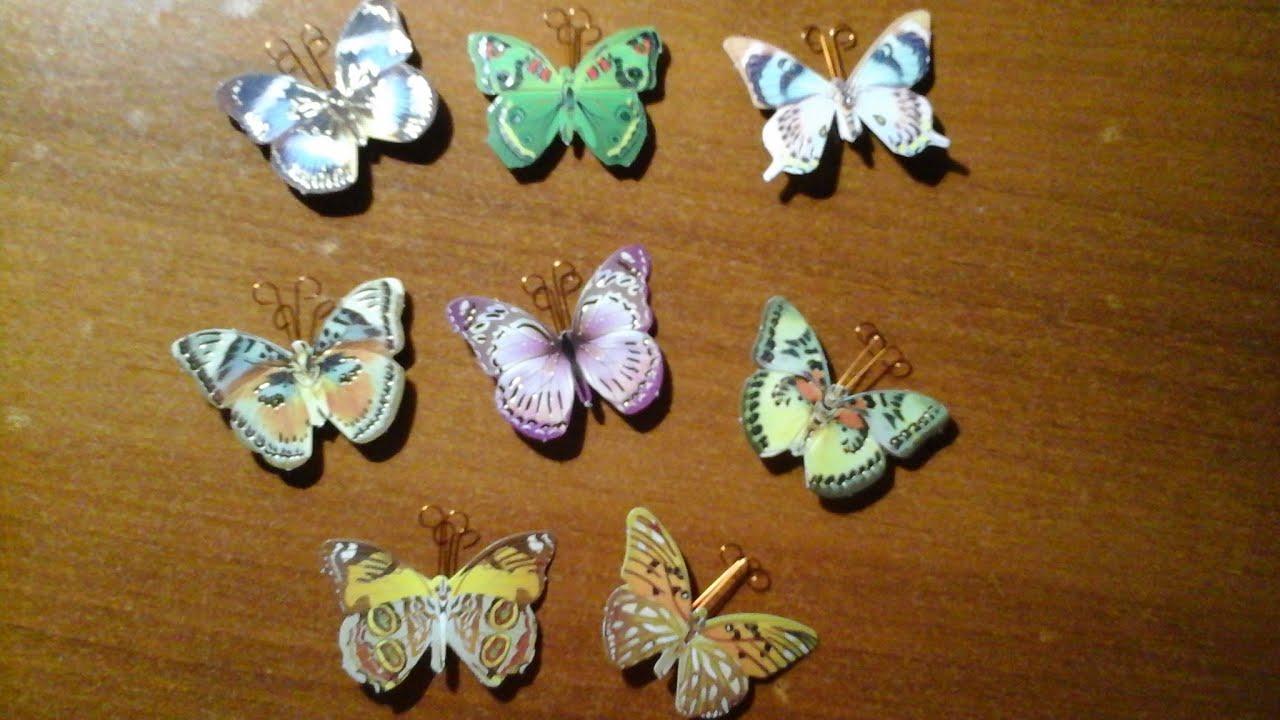 Декоративная бабочка Правильный мир 69
