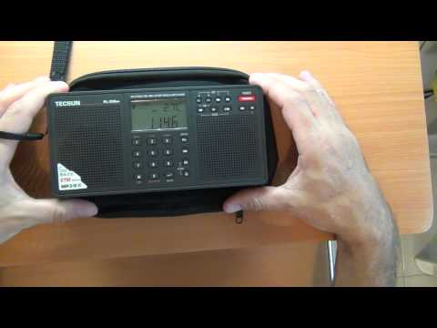 Consumer Radio - HAM / Amateur Radio  - Antennas: Tecsun PL-398MP FM / SW Radio