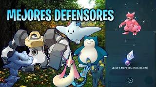 MEJORES DEFENSORES DESPUÉS del BALANCE & EVOLUCIÓN  de MAGMORTAR SHINY !! - Pokemon Go