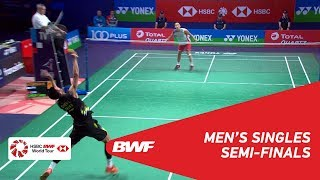 SF | MS | Kento MOMOTA (JPN) [1] vs CHEN Long (CHN) [6] | BWF 2018