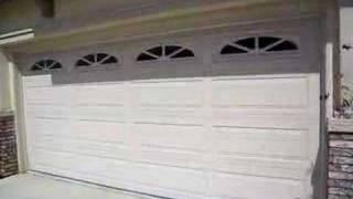 garage door. Black Bedroom Furniture Sets. Home Design Ideas