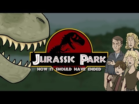 Thumb Jurassic Park: How It Should Have Ended